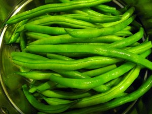 I Love Fresh Green Beans