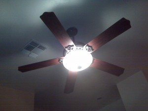 The Ceiling Fan we Never Shut Off