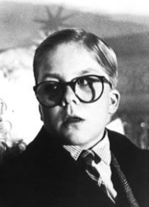 Me as Ralphie – That's Rediculous