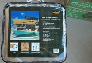 Shade Sail box