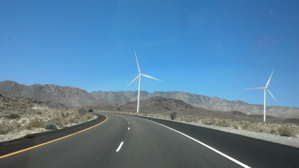 Wind Turbines Ocotilla California